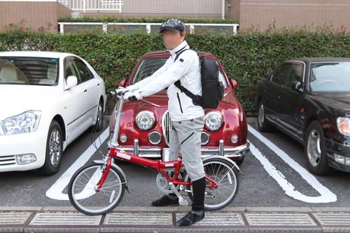 自転車・サイクリングでデジタル一眼レフ