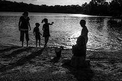 Summertime (FlotographyATX) Tags: 2017 4thofjuly austin contrast fireworks fuji holiday independanceday lake xpro2 fun play shadows