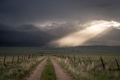 Go To The Light (mikedemmingsphoto.com) Tags: landscape valley farm clouds outdoor outside ranch nikon nikond750 western mountains sangredecristomountains westcliffe