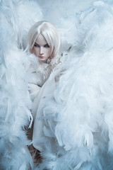 My angel (lukoshka) Tags: dollshecraft dollshe saint bjd bjdphoto dollphoto angel
