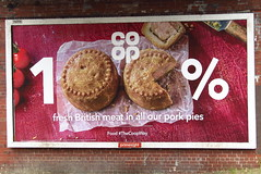 Rayleigh, Essex (Steven K. Hearn) Tags: posters billboards advertising coop food groceries rayleigh essex england porkpies supermarkets