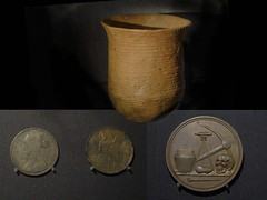 Pitt Rivers Time Capsule Opened_20170628 (Peter's Pictures) Tags: archaelogical medals coins farthings urn pittrivers