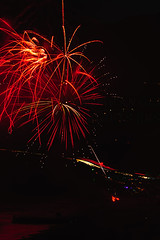 24 (morgan@morgangenser.com) Tags: pacificpalisaddes beach belairbayclub blue celebrate fireworks color iso100 july3rd loud nikon night ocean orange pch people red reflection special spectacular streaks timeexposire tripod yellow amazing