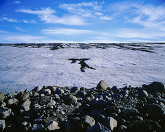 I saw the sign (JaZ99wro) Tags: 4x5 e100g e6 epsonv750 graflexcrowngraphic iceland islandia l031a lf largeformat tetenal3bathkit analog exif4film film glacier moraine