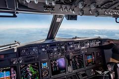 Flying above Lyon, France, towards Switzerland (gc232) Tags: flyingabovelyon france towardsswitzerland livefromtheflightdeck golfcharlie232 boeing cockpit 737 b737 737ng 737800 7 737700 737900 instruments fly airline pilot avgeek aviation