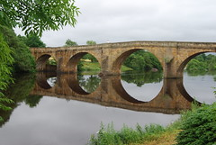 Chesters Bridge (Halliwell_Michael ## Thanks you for your visits #) Tags: northumberland nikond40x 2017 thegeorgechollerford chollerford northtyne trees bridge bridges reflection reflections rivers water landscapes reflectionslovers