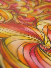 Fundo do Tema Através do Espelho (Renan Salotto) Tags: laranja vermelho amarelo cor ilustração vinho quente psicodélico aspirais