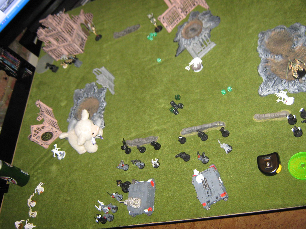 Space Wolves vs Tyranids 2009.12.12