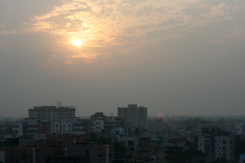 kolkata sunset