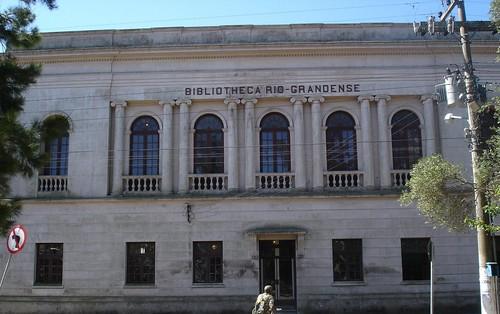 Bibliotheca Rio-Grandense foi fundada em 1846. Crédito: Divulgação