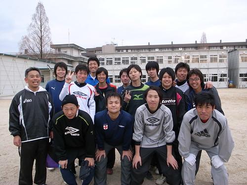 2009年蹴り納め