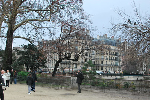 Cold Paris afternoon