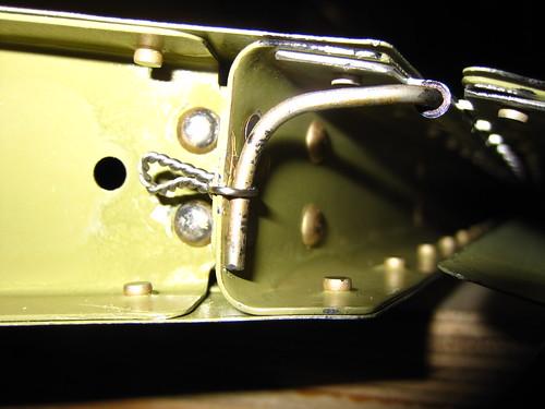 Hinge Pin Installed