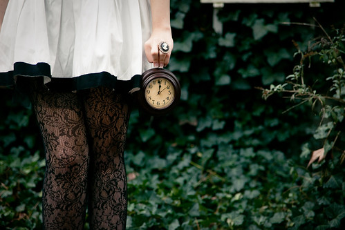 Alice in Wonderland: White Rabbit - No Time to Say Hello, Goodbye...