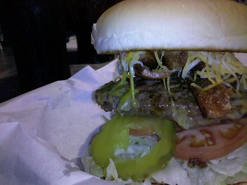 Diggers bacon cheeseburger