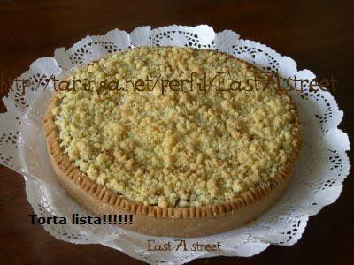 Torta Crumble de Manzana (Fotos Mias) (Paso a Paso)