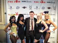 Bayonetta & Playboy at New Year's Eve in Chicago