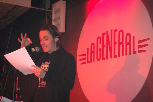Tomàs Àrias llegeix el Manifest postfuturista