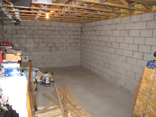 Basement Project Start