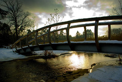 Haaksbergen Assinkbos  waterpark (Ben Kerver) Tags: bridge winter brug waterpark haaksbergen