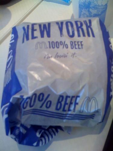 ニューヨークバーガー wktk