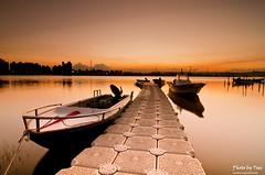 暮色_1(Twlight_1) (nans0410(busy)) Tags: sunset boat nikon ship dusk taiwan terminal tokina taipei 台灣 台北 日落 twlight blackcard 暮色 d90 黃昏 黑卡 nd8 福安碼頭 福安河濱公園 fuanriversidepark