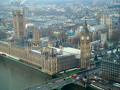 Westminster and the Houses of Parliament (Austrian Lancer) Tags: london eye westminster united kingdom parliament views yahoo:yourpictures=skyline yahoo:yourpictures=bestofbritish