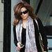 SEMI-EXCLUSIVE: Eva Longoria Parker Leaving An Office In West Hollywood