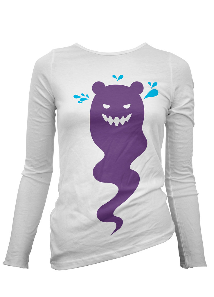 Bare Bear ladies long sleeve