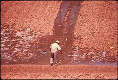 Arizona - Navaho Nation (The U.S. National Archives) Tags: arizona man nation shovel navajo shoveling environmentalprotectionagency navajonation documerica usnationalarchives nara:arcid=544371