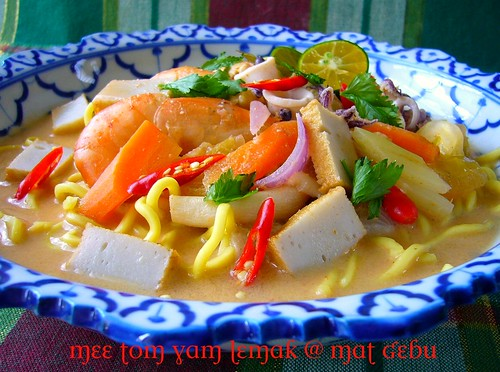 Mee Tom Yam Lemak