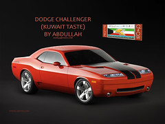 CHALLENGER (Abdullah Rashed - KWT ( excuse 4 slow replies)) Tags: art classic cars car sport mobile sedan photoshop de mercedes benz design fan am nice shot designer arts style ferrari camaro vision porsche dodge designs local kuwait chrysler trans audi abu seen  kuwaiti voitures designers saleh rashed abdullah           worldcars