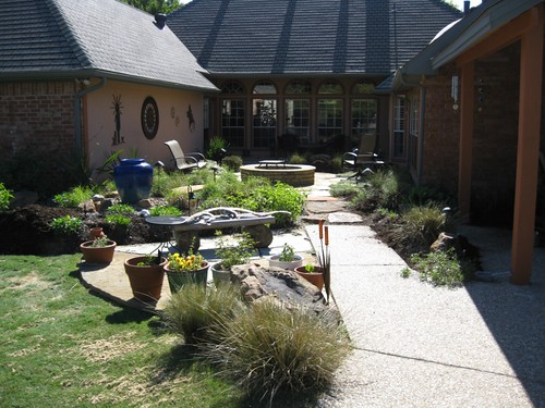 backyard landscaping plants