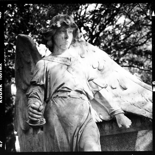 06 Donovant tomb detail - Angel with broken sword