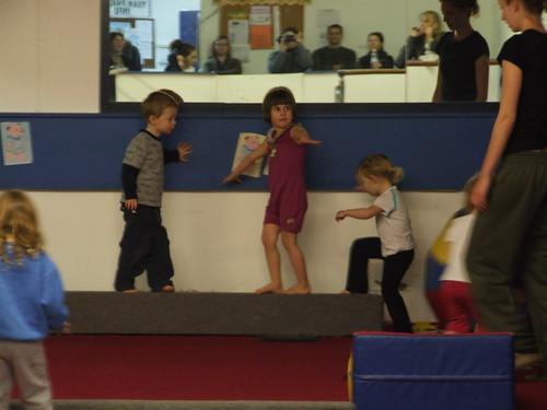 Hypatia's gymnastics class