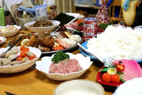 大晦日の晩餐2009 - yutaka