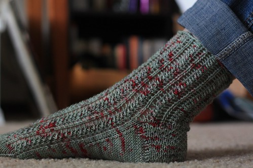 Quill Lace Sock