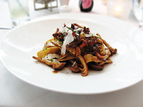 Luce - Short ribs papardelle with wild mushrooms