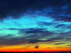 "oh me oh my i love the  Irish sky (""""Irene"""") Tags: blue light sunset red sky black colour love beautiful beauty clouds amber skies bright stunning rainbows skyward heavenly mothernature mixture allrightsreserved formations firey creations uplifting colourfull blueribbonwinner flickraward flickraward5 theinspirationgroup irenecartonsphotography"