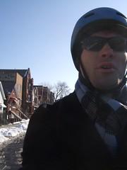 trip blue chicago me sunglasses bike scarf bicycling bicicleta bern bridgeport vélo twb