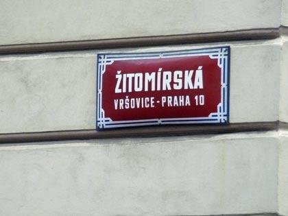 Житомирская улица в Праге