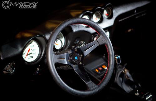 Vans favorite steering wheel: the Nardi Deep corn