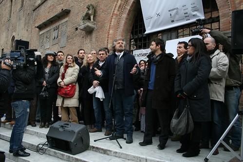 I Candidati del MoVimento 5 Stelle presentati da Beppe Grillo