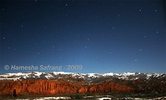 Star strewn roof of the world (From Afghanistan With Love) Tags: world travel afghanistan night glow buddha 2009 starry bamyan zeerak safrang hamesha javaid