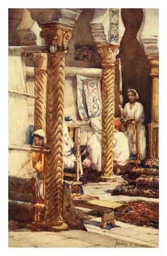 003-Escuela de los tejedores de alfombras en Argel-Algeria and Tunis (1906)-Frances E. Nesbitt