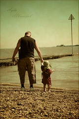 Father and Son II (Ayda Ab) Tags: uk sea cute love beach hat daddy seaside outfit dad child father iloveyou fatherandson fathersday  southend southendonsea   ayda  neverletgo  citybythesea  abbasnejad acitybytheshore theresacitybehindtheseas  littlecuteboy holdontomyhands