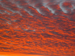 Sunset at 5:22 PM, 1/24/10 (Robb Wilson) Tags: sunset cloudformations kartpostal