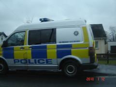 Volkswagen  transporter police van (>Tiarnán 21<) Tags: vw police transporter cookstown