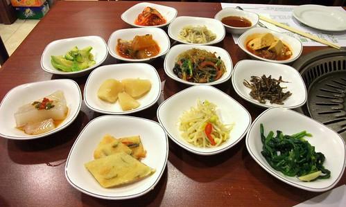 Assorted Mini Korean Dishes