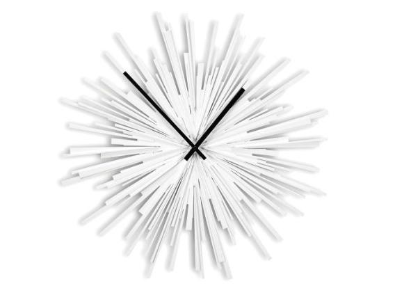 white-starburst-clock